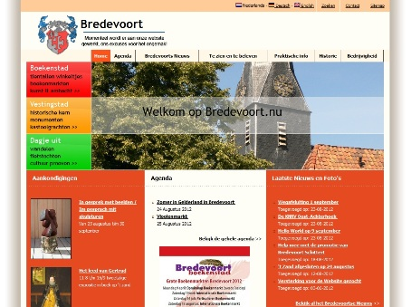 Website Bredevoort.nu